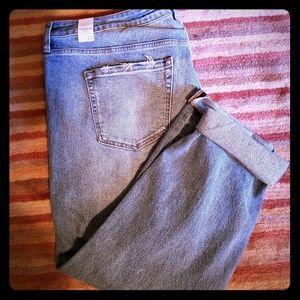 Torrid high rise straight jeans